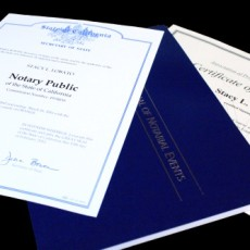 Department of Notary Documents